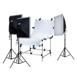 Предметные столики - Falcon Eyes Photo Table ST-0613T with Lighting - быстрый заказ от производителя