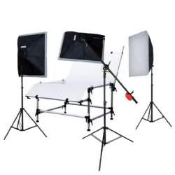 Предметные столики - Falcon Eyes Photo Table ST-1324 with Lighting - быстрый заказ от производителя