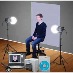 Printeri - Benel Photo DNP ID Photo Studio Starterkit - ātri pasūtīt no ražotāja