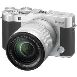 Mirrorless cameras - Mirrorless Digital Camera Fujifilm X-A3 XC16-50 Kit Silver - buy in store and with delivery