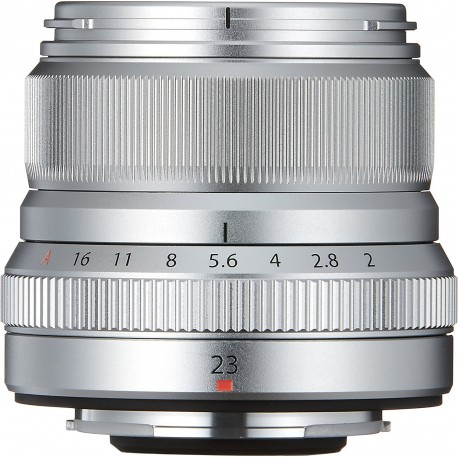 Objektīvi - FUJIFILM Lens Fujinon XF23mm F2 R WR XF f/2.0 R WR Lens - Silver - ātri pasūtīt no ražotāja