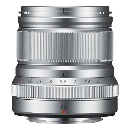 Objektīvi - FUJIFILM Lens Fujinon XF50mm F2 R WR silver XF-50 mm f/2.0 R WR Lens - Silver - ātri pasūtīt no ražotāja