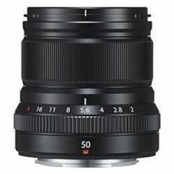 Objektīvi - FUJIFILM Lens Fujinon XF50mm F2 R WR black XF-50mm f/2.0 R WR Mid-Telephoto - perc šodien veikalā un ar piegādi