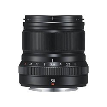 Objektīvi - Fujifilm Fujinon XF 50mm f/2 R WR objektīvs, melns 16536611 - perc šodien veikalā un ar piegādi