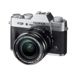 Bezspoguļa kameras - Mirrorless Digital Camera Fujifilm X-T20 XF18-55 Kit Silver - perc veikalā un ar piegādi