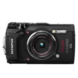 Kompaktkameras - Olympus TG-5 Black kamera - ātri pasūtīt no ražotāja