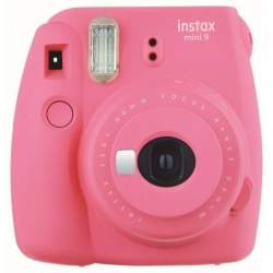 Instant Cameras - Fujifilm instax mini 9 flamingo pink instant camera+instax glossy 10pcs - quick order from manufacturer