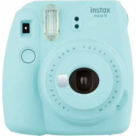 Instant cameras - Fujifilm instax mini 9 ice blue instant camera+instax glossy 10pcs - quick order from manufacturer