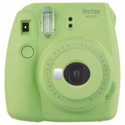 Instant Cameras - Fujifilm instax mini 9 lime green instant camera+instax glossy 10pcs - quick order from manufacturer
