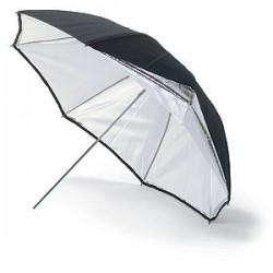 Foto foni - Bowens BW-4046 lietussargs 115 cm sudrabs/balts - ātri pasūtīt no ražotāja