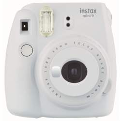 Instant cameras - Fujifilm instax mini 9 smokey white instant camera+instax glossy 10pcs - quick order from manufacturer