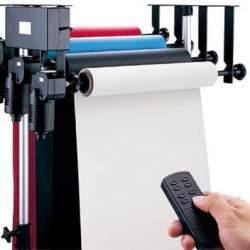 Fonu turētāji - Falcon Eyes fona sistēma Elektriskā B-4WE for 4 rolls nr.296810 - perc veikalā un ar piegādi