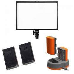 LED uz kameras - KIT LEDGO E268 LED PANEL KIT - ātri pasūtīt no ražotāja