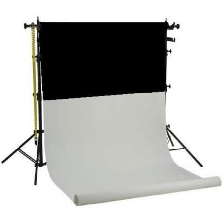 Держатели для фонов - Falcon Eyes Background System SPK-3 with 3 Rolls Black/White/Blue 1.35x11 m - быстрый заказ от производителя