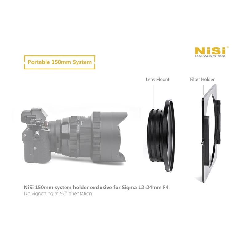 Order NISI FILTER HOLDER 150 FOR SIGMA 12-24/4 ART