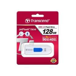 Zibatmiņas - TRANSCEND JETFLASH 790 128GB / USB 3.1 - ātri pasūtīt no ražotāja