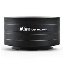 Adapteri - JJC LMA-M42_M4/3 adapteris M42 objektīvs uz Panasonic G1, GH1,GF1 M4/3 kameru - ātri pasūtīt no ražotāja