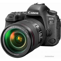 Spoguļkameras - Canon EOS 6D Mark II DSLR body 26.2MP - perc šodien veikalā un ar piegādi