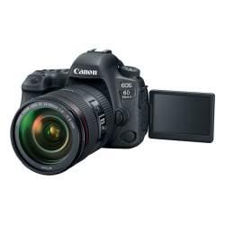 Spoguļkameras - Canon EOS 6D Mark II DSLR Camera with 24-105mm f/4 II L Lens - perc šodien veikalā un ar piegādi