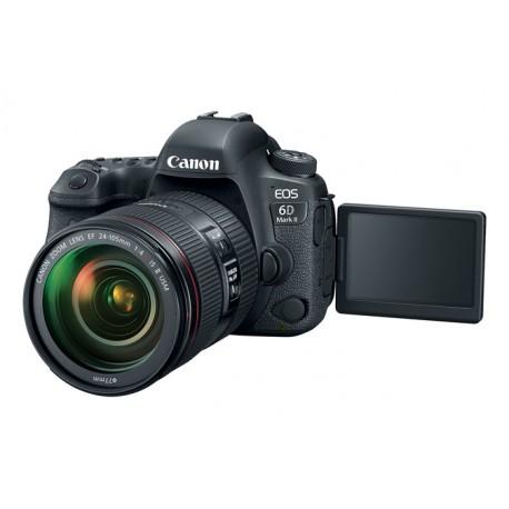 Spoguļkameras - Canon EOS 6D Mark II DSLR Camera with 24-105mm f/4 Lens - perc veikalā un ar piegādi