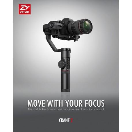 Stabilizatori - Zhiyun Crane 2 Stabilizators - perc veikalā un ar piegādi