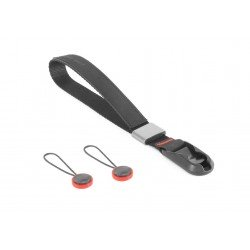 Siksniņas un turētāji - Peak Design Cuff wrist strap CF-BL-3 Charcoal - perc šodien veikalā un ar piegādi