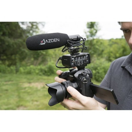 Микрофоны - AZDEN PRO XLR OUT SHOTGUN MICROPHONE SGM-250CX - быстрый заказ от производителя