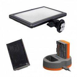 LED uz kameras - KIT LEDGO E116C LED PANEL KIT - ātri pasūtīt no ražotāja