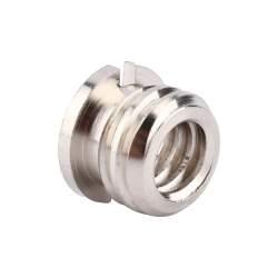 """Statīvu aksesuāri - SC-13 adapteris 1/4"""" male to 3/8"""" female bronze length 19.1mm width 16mm - perc veikalā un ar piegādi"""