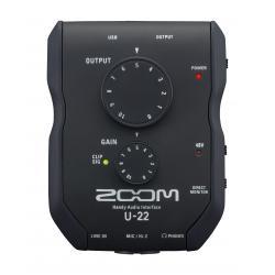 Mikrofoni - Zoom U-22 Handy Audio Interface USB - perc šodien veikalā un ar piegādi