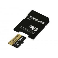 Atmiņas kartes - TRANSCEND 64GB MICROSD SDHC V30 ULTIMATE UHS-1 U3 - perc veikalā un ar piegādi