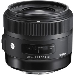 Objektīvi - Sigma EX 30mm F1.4 DC HSM Sony [ART] - perc veikalā un ar piegādi