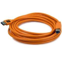 Kabeļi - Tether Tools Tether Pro USB 3.0 Male A to Male B 4.6m - perc šodien veikalā un ar piegādi