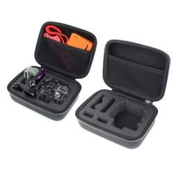 Koferi - Koferis GoPro kamerai un aksesuāriem, melns, izmērs 20x31.5x5.5cm - perc veikalā un ar piegādi
