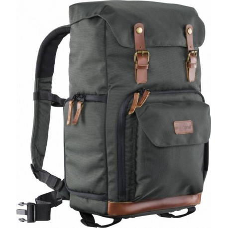 Backpacks - Walimex Mantona photo backpack Luis green, retro - buy today in store and with delivery