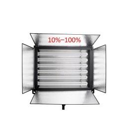 Menik MM-9D divu dienas gaismas paneļu 6x55W komplekts ar maināmu gaismas intensitāti