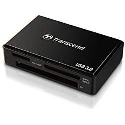 Memory Cards - Transcend Cardreader All-in-1 [USB 3.0] Cardreader RDF8 All-in-1 white (USB 3.0) - buy today in store and with delivery