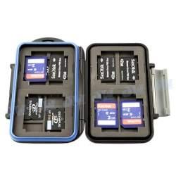 Atmiņas kartes - Memory Card Case MC-5 (Gray) - купить сегодня в магазине и с доставкой