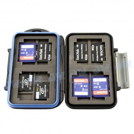 Atmiņas kartes - JJC MC-5 futlāris SD/CF/microSD/XD kartēm - perc šodien veikalā un ar piegādi