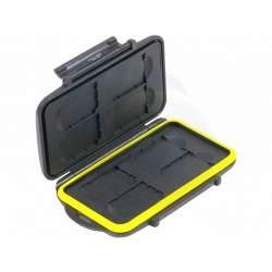 Atmiņas kartes - JJC MC-SD8 Memory Card Case weather resistant 8pcs SD cards - купить сегодня в магазине и с доставкой