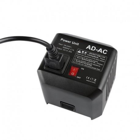 Gaismu aksesuāri - Godox AC-DC adpater for AD600 - perc veikalā un ar piegādi