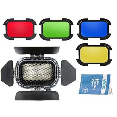 Reflektori - Godox Speedlite Color Filters Honey set for AD200 (red, yellow,blue,green) - perc veikalā un ar piegādi