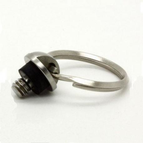 Statīvu aksesuāri - DRS-09 D-ring skrūve 1/4-20 15mm Garums 13.5mm with ring - perc šodien veikalā un ar piegādi