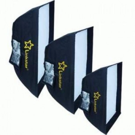 Softboxes - Linkstar Softbox 60x90 cm + Honeycomb Grid LQA-SB6090HC - quick order from manufacturer