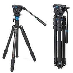 Video statīvi - Benro A2683TS4 video statīvs ar galvu - perc šodien veikalā un ar piegādi