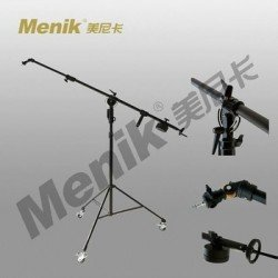 """Boom"" - Menik D-67 heavy duty boom statīvs ar 245cm boom roku un ritentiņiem max. augstums 230cm - быстрый заказ от производителя"