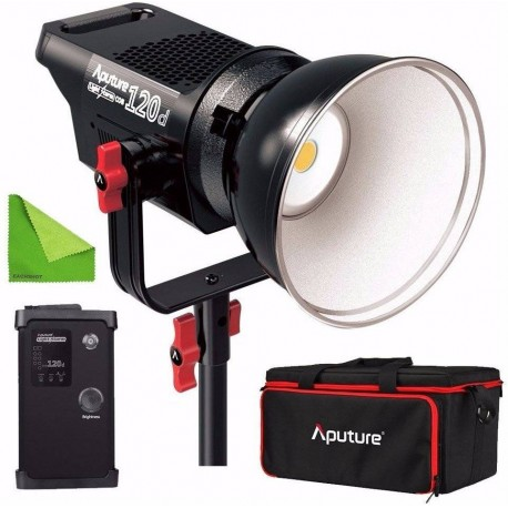 Vairs neražo - Aputure Fresnel Mount with Adjustable Lens COB120 accessories