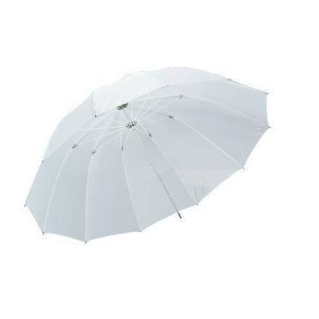 Зонты - Falcon Eyes Jumbo Umbrella URN-T86TSB1 Transparent White + Silver/Black Cover 216 cm - быстрый заказ от производителя