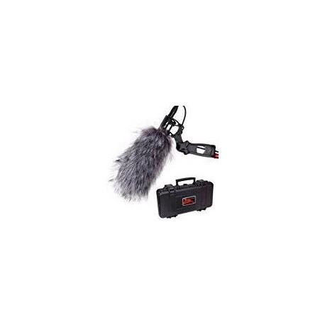 Microphones - Aputure Deity Kit, Condenser Shotgun Camcorder Broadcast Microphone - quick order from manufacturer
