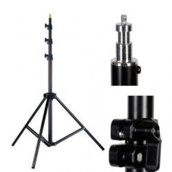 Light Stands - Linkstar Light Stand L-26M, 92-266 cm Compressed Air Cushion - buy today in store and with delivery